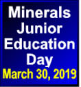 Minerals Junior Education Day March 30 2019